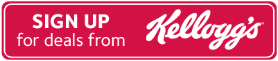 Sign Up for deals from Kellogg's