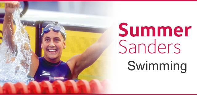Summer Sanders - Swimming