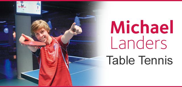 Michael Landers - Table Tennis