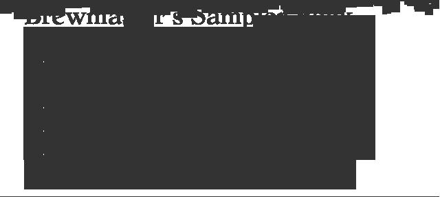 Brewmaster's Sampler Pack