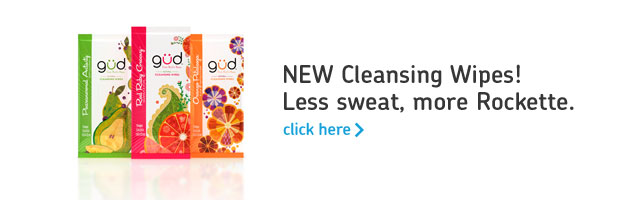 New Cleansing Wipes! Less sweat, more Rockette. click here >