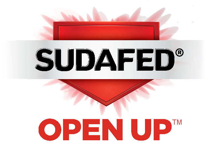 Sudafed® Open Up